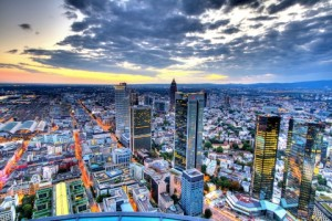 Downtown Frankfurt, Germany
