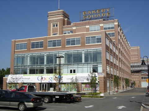 Google's Bakery Square offices