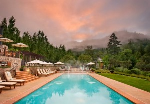 The only way to live in the wilderness, Calistoga Ranch