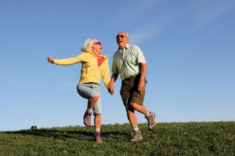 Seniors have fun too