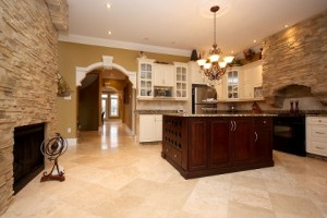 A kitchen in one of Bennett's listings