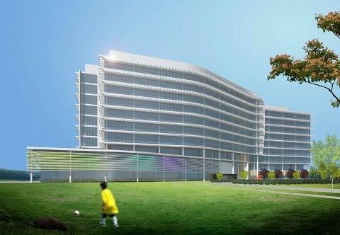 Future Nissan headquarters Cool Springs