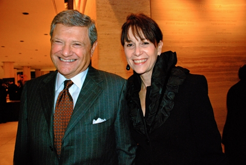 Jerry Speyer with wife Katherine G. Farley