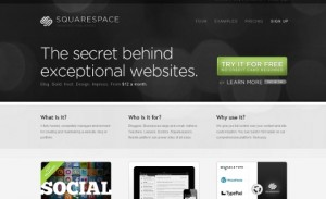 Build a site with Squarespace