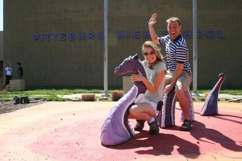 Pittsburg peeps having fun