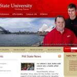 College landing page testimonial