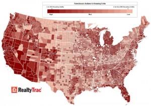 Foreclosre heat map