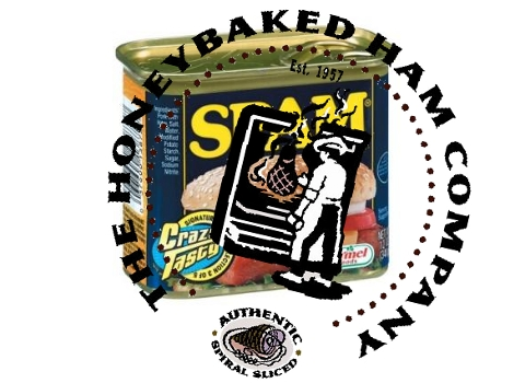 Spam versus Honey Baked