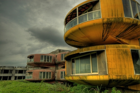 So called UFO house