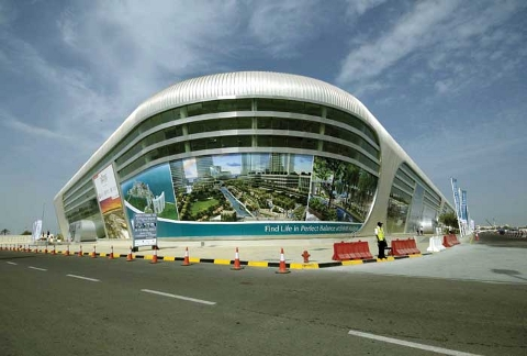 The Abu Dhabi National Exhibition Centre