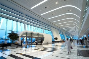 Inside the state of the art ADNEC venue