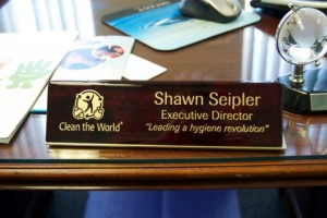 Desk of Shawn Seipler