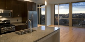 A unit at Adelicia in midtown Nashville