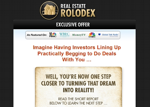 Real Estate Rolodex