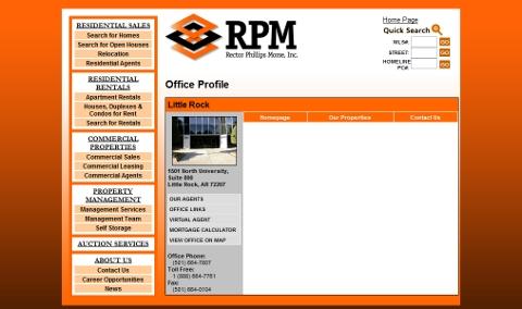 RPM landing page