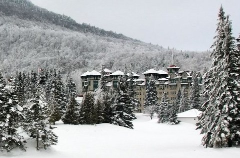 The Balsams in Winter