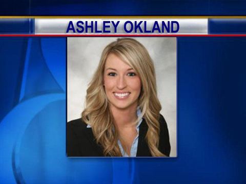Estate agent Ashley Okland, murder last week at a property in West Des Moines, Iowa