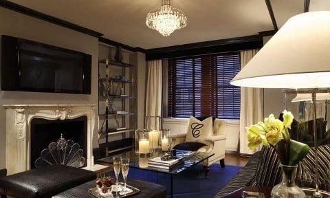 曼哈顿卡莱尔的装饰套房