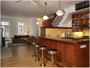 Interior of Daniel Radcliffe's new West Village home
