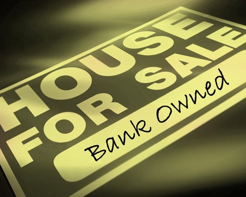 Foreclosed homes, those sold by the mortgage provider all count as distressed properties