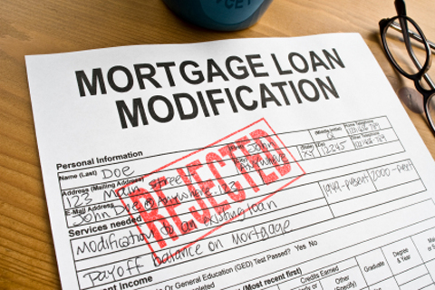 Many loan modification claims are rejected, resulting in dubious practices to qualify for assistance.