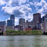 The Pittsburgh skyline and US Steel Tower