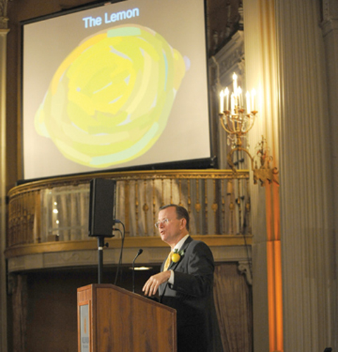 The Police HQ building was fully deserving of its 'lemon' award