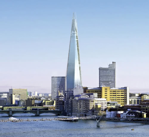 Europe's soon-to-be tallest building, The Shard in London, is also financed by Qatari Diar