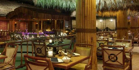 Tonga Room Restaurant at the Fairmont in San Francisco