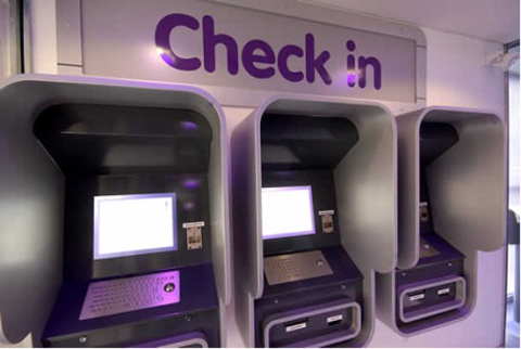 Automated check-in machines will be available at Yotel Times Square