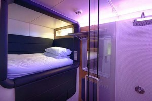 Yotel rooms offer compact luxury