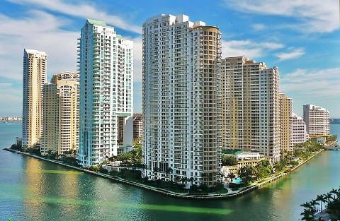 Brickell Key Miami