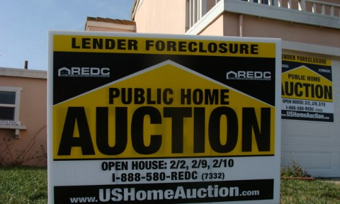 California foreclosed home
