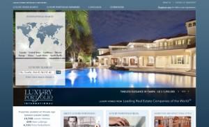 Luxury Portfolio landing page