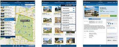 Realtor.com iPad app