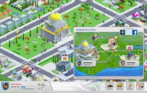 We City iPad screenshot