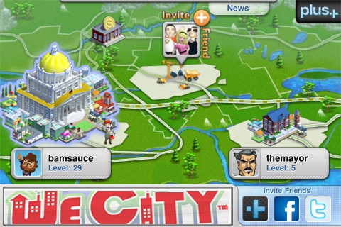 We City iPhone/iPod Touch screenshot
