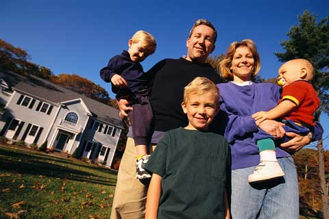 American families that earn the average wage can afford 75% of homes sold in the last quarter