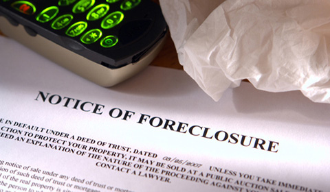 Incorrect paperwork has led to a fall in the number of foreclosures this year.
