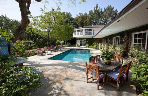 The Bel-Air home of Liz Taylor is now for sale.