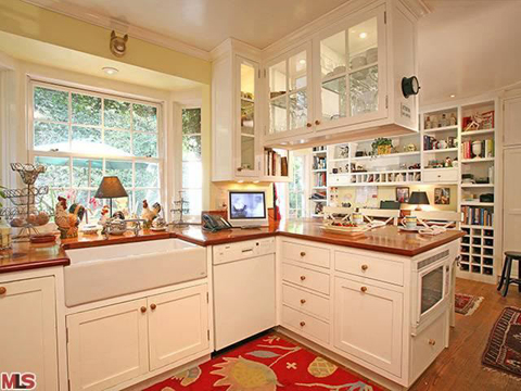 Kitchen in Taylor Swift's new LA property