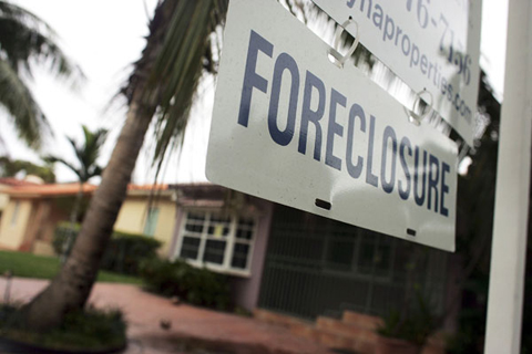 Foreclosures in texas are dropping