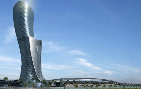 Hyatt Capital Gate in Abu Dhabi