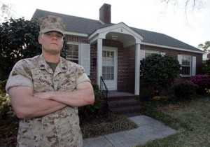 Many US military members paid a lot more for their homes than they are worth