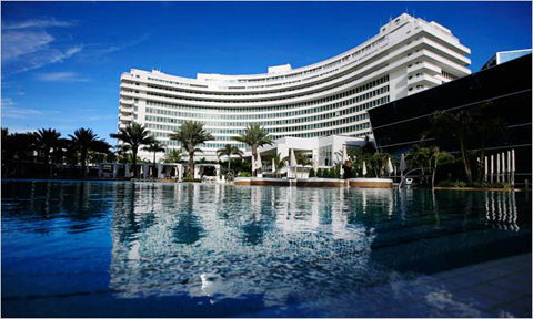 Miami's Fontainebleau hotel is now run by jet luxury resorts