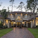 Silver Oak model home designed by Toll Brothers