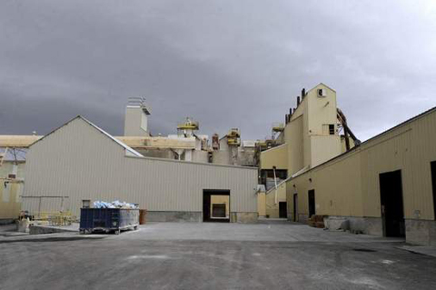 The closure of the US gypsum plant has led to the death of Empire