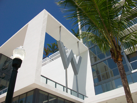 Beach Chic At The W Hotel Miami South