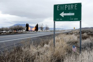Empire, nevada, is to close its doors at the end if June