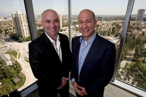 Andre Agassi and Bobby Turner, Co-Managing Partners of the Canyon-Agassi Charter School Facilities Fund